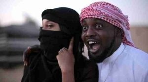 Photos Of AY Makun, His Family, Brother, Yomi Casual & Wife In Dubai